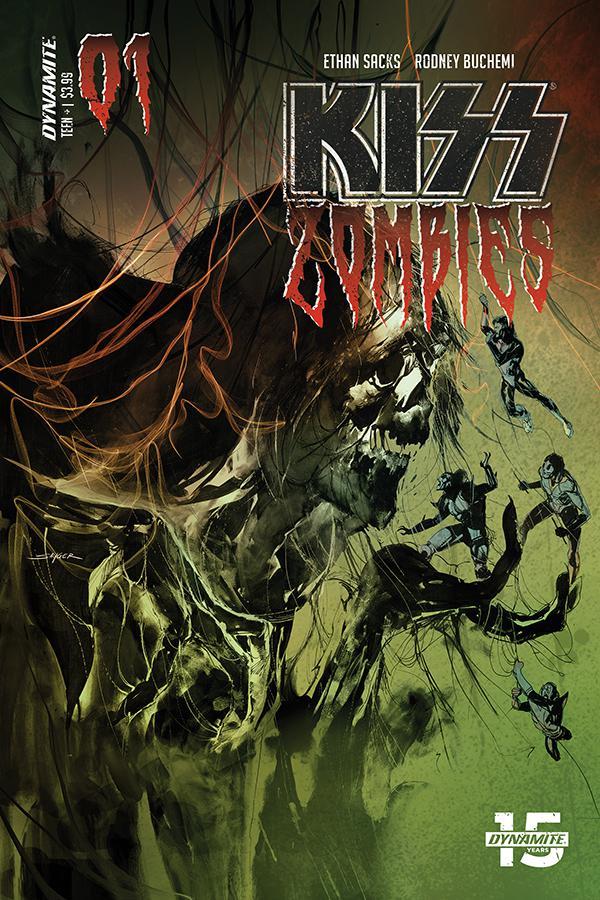 KISS Zombies #1 Cover B Variant Stuart Sayger Cover