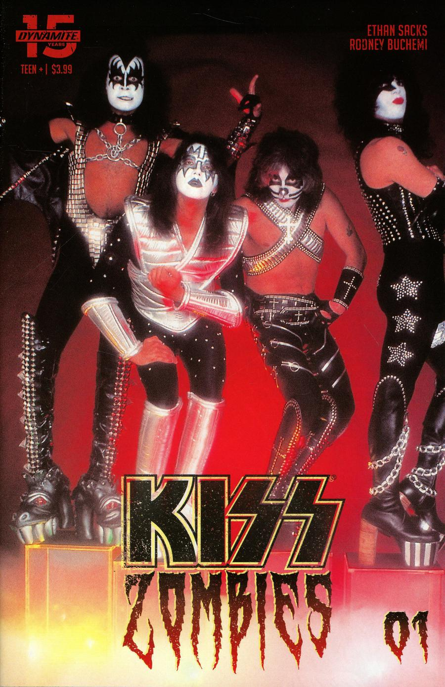 KISS Zombies #1 Cover D Variant Photo Cover