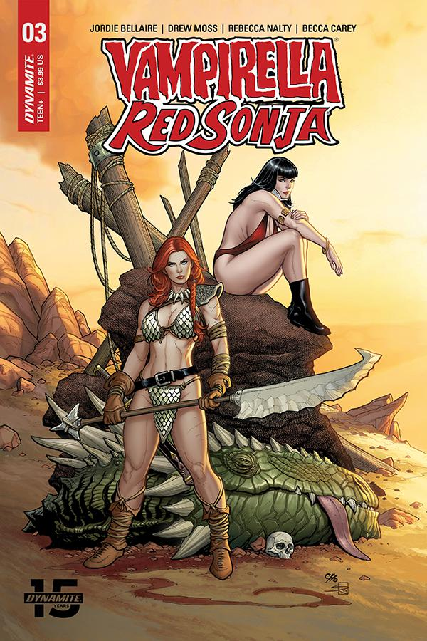 Vampirella Red Sonja #3 Cover A Regular Frank Cho & Sabine Rich Cover