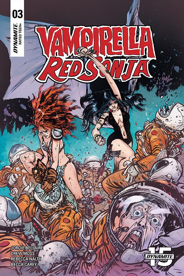 Vampirella Red Sonja #3 Cover C Variant Daniel Warren Johnson & Mike Spicer Cover