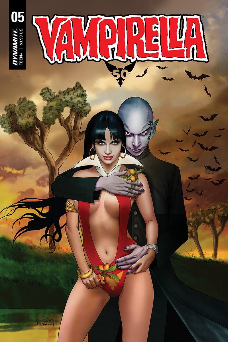 Vampirella Vol 8 #5 Cover D Variant Ergun Gunduz Cover