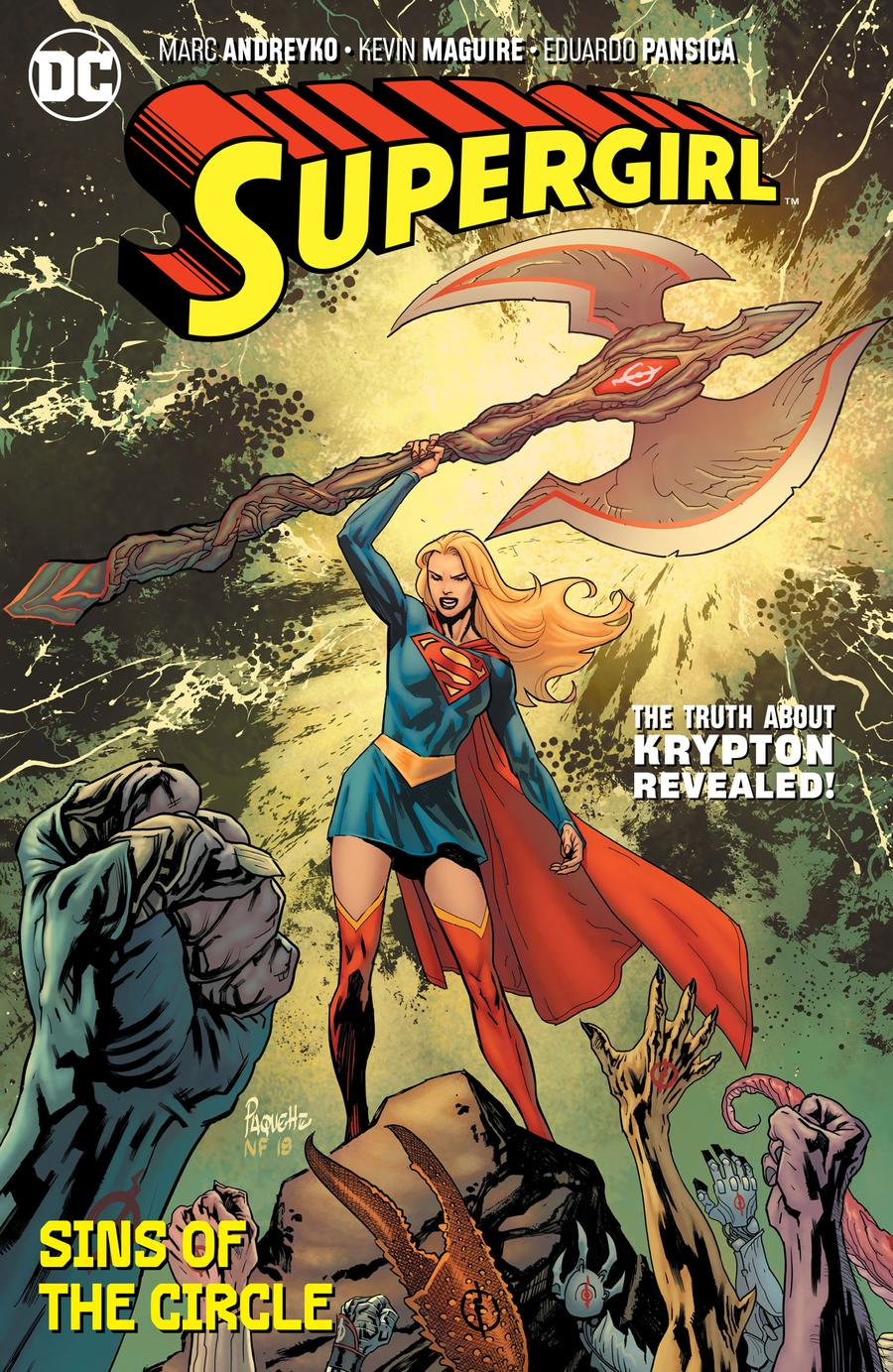 Supergirl (2018) Vol 2 Sins Of The Circle TP