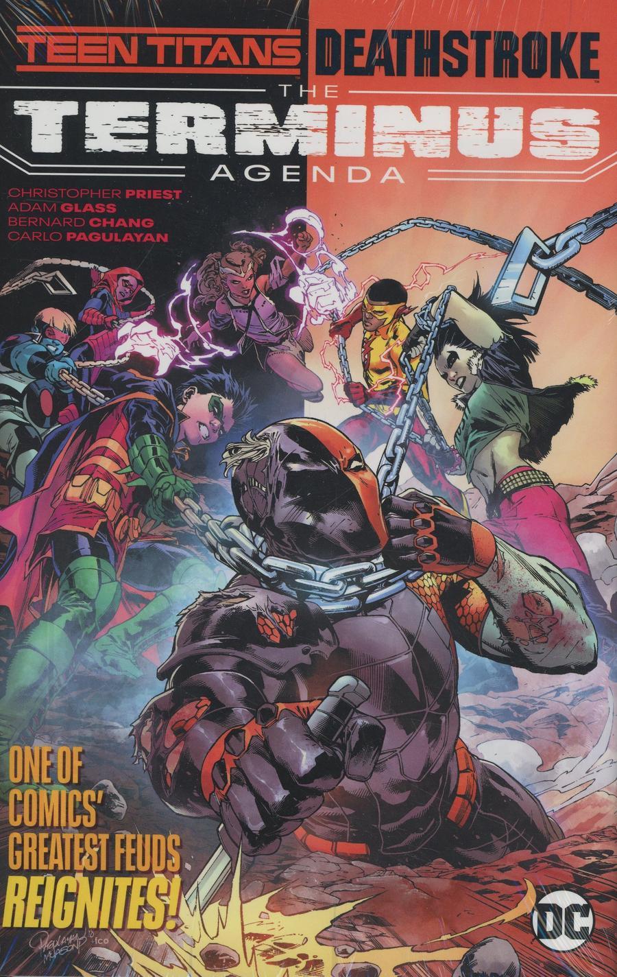 Teen Titans Deathstroke The Terminus Agenda HC