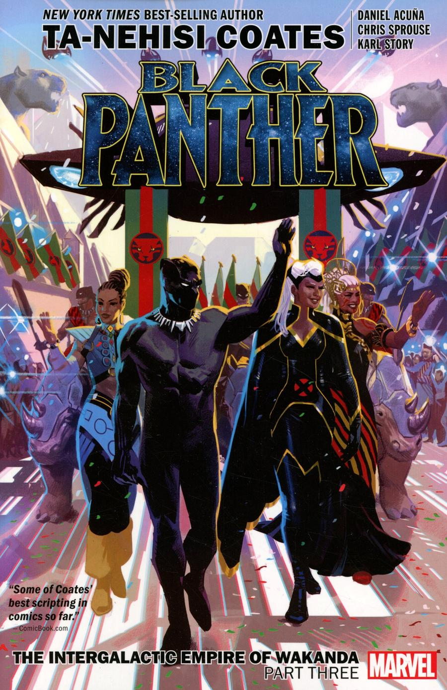 Black Panther Intergalactic Empire Of Wakanda Part 3 TP