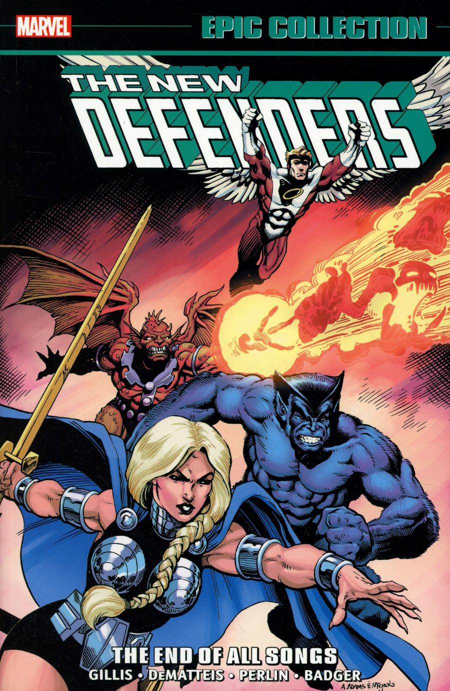 Defenders Epic Collection Vol 9 The End Of All Songs TP