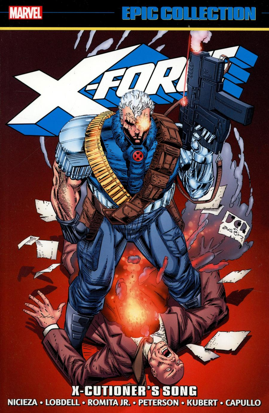 X-Force Epic Collection Vol 2 X-Cutioners Song TP