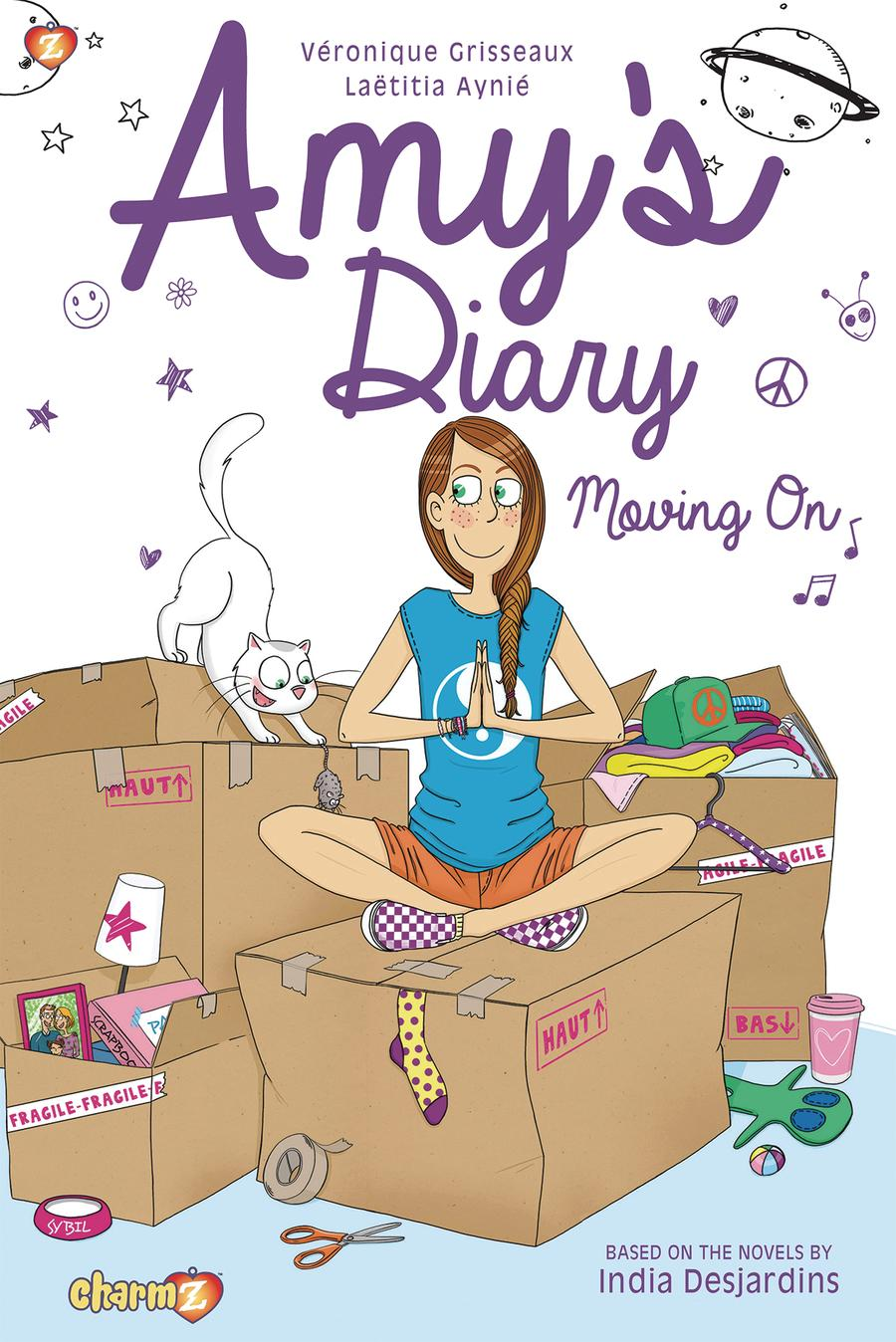 Amys Diary Vol 3 Moving On TP