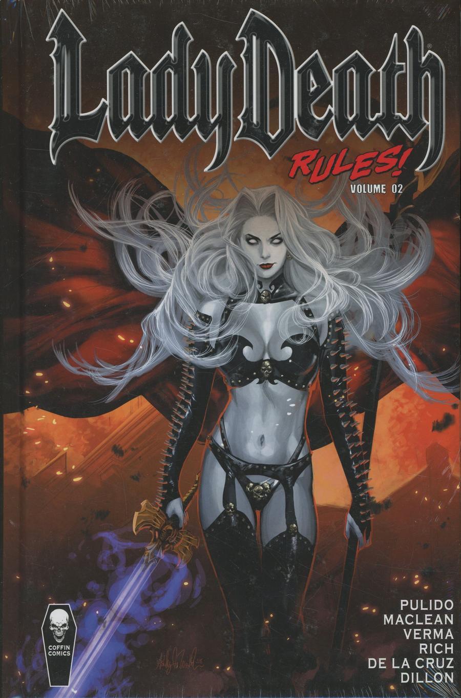 Lady Death Rules Vol 2 HC
