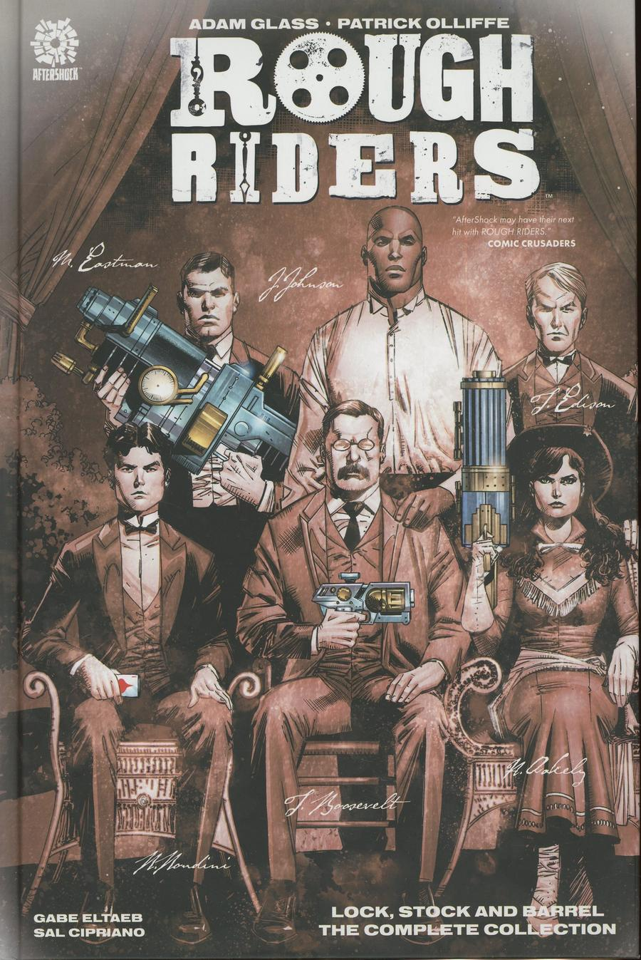 Rough Riders Lock Stock And Barrel Complete Series HC
