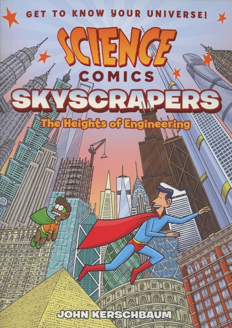 Science Comics Skyscrapers Heights Of Engineering TP