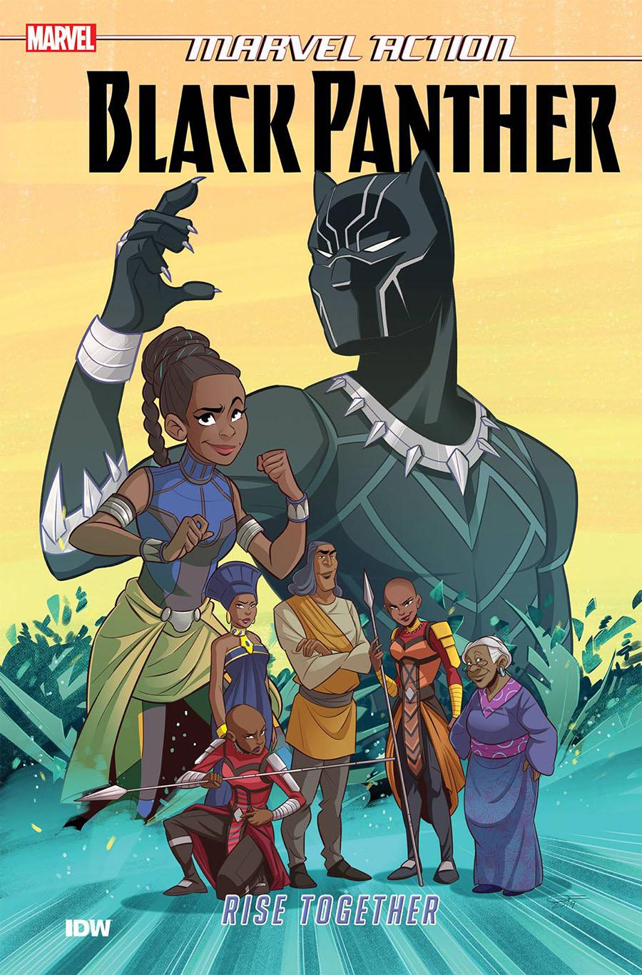 Marvel Action Black Panther Book 2 Rise Together TP