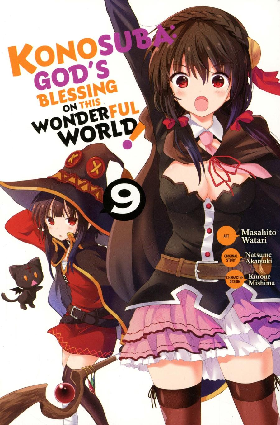 Konosuba Gods Blessing On This Wonderful World Vol 9 GN