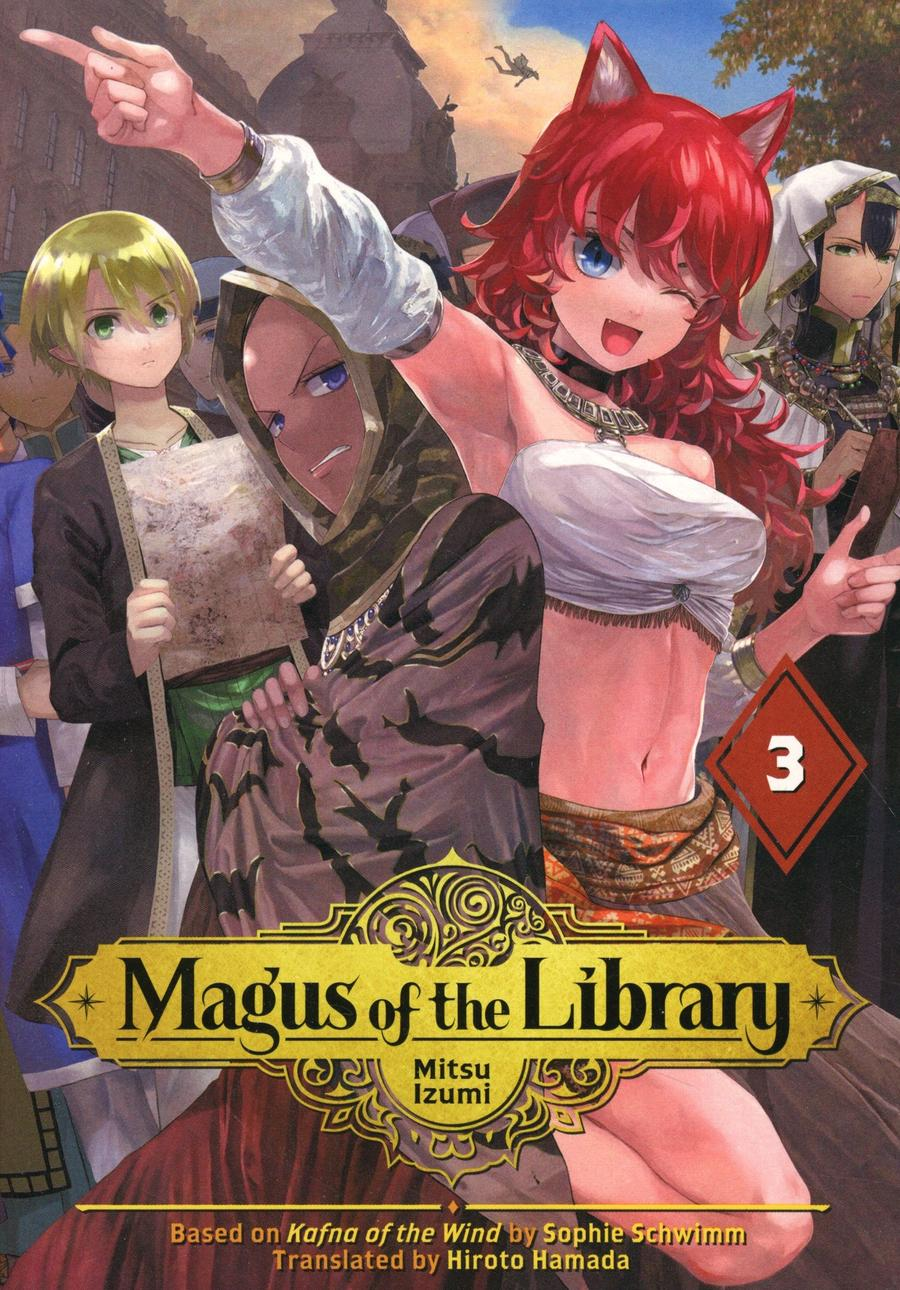 Magus Of The Library Vol 3 GN