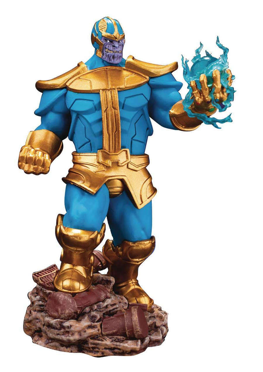 Avengers Infinity War Thanos Comic DS-014SP D-Stage Series Previews Exclusive 6-Inch Statue