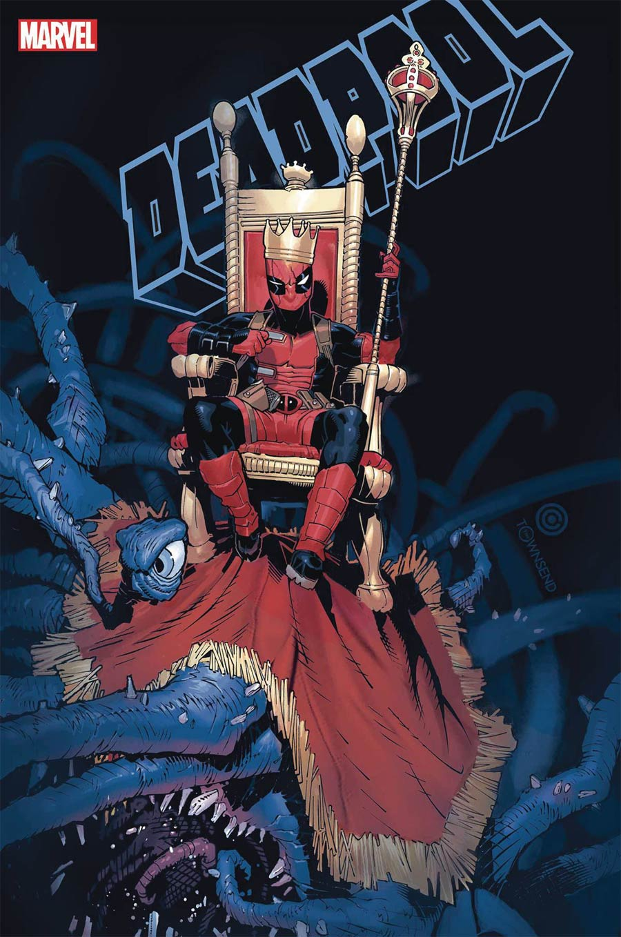 Deadpool Vol 7 #1 By Chris Bachalo Poster