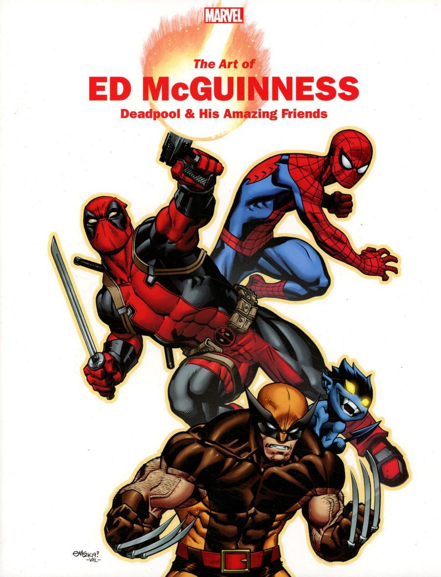 Marvel Monograph Art Of Ed McGuinness TP