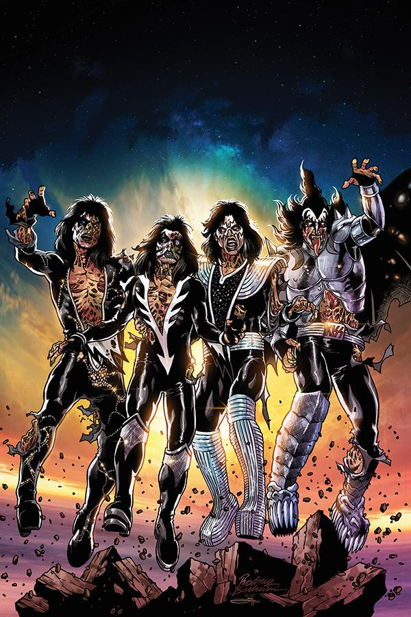 KISS Zombies #1 Cover I Incentive Rodney Buchemi Virgin Cover