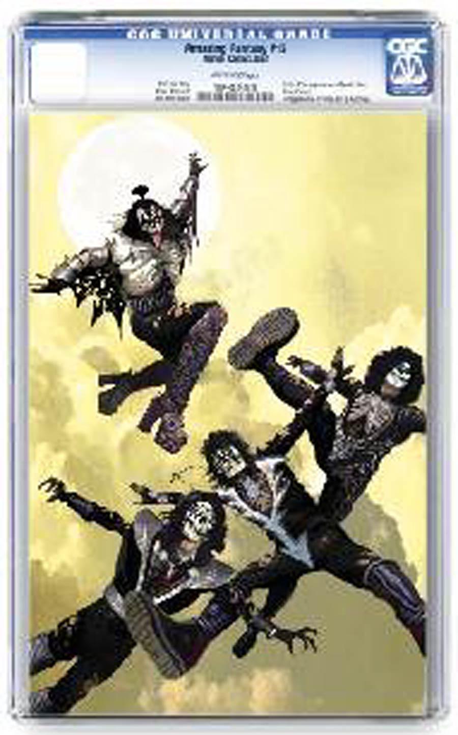 KISS Zombies #1 Cover P Regular Arthur Suydam Cover CGC Graded