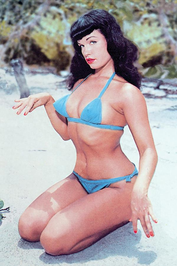 Bettie Page Unbound #8 Cover F Incentive Photo Virgin Cover