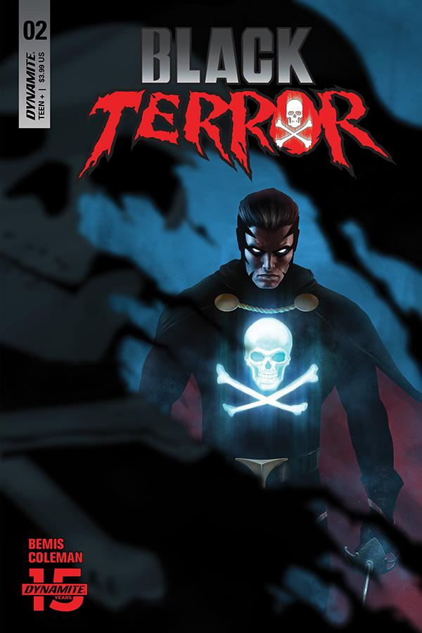 Black Terror Vol 4 #2 Cover G Incentive Rahzzah Blue Cover
