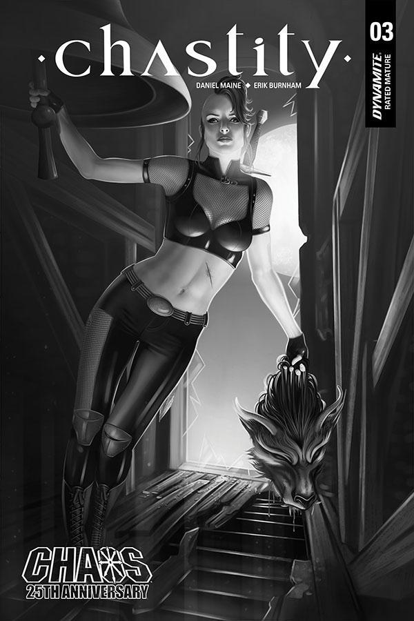 Chastity Vol 2 #3 Cover J Incentive Catherine Nodet Black & White Cover