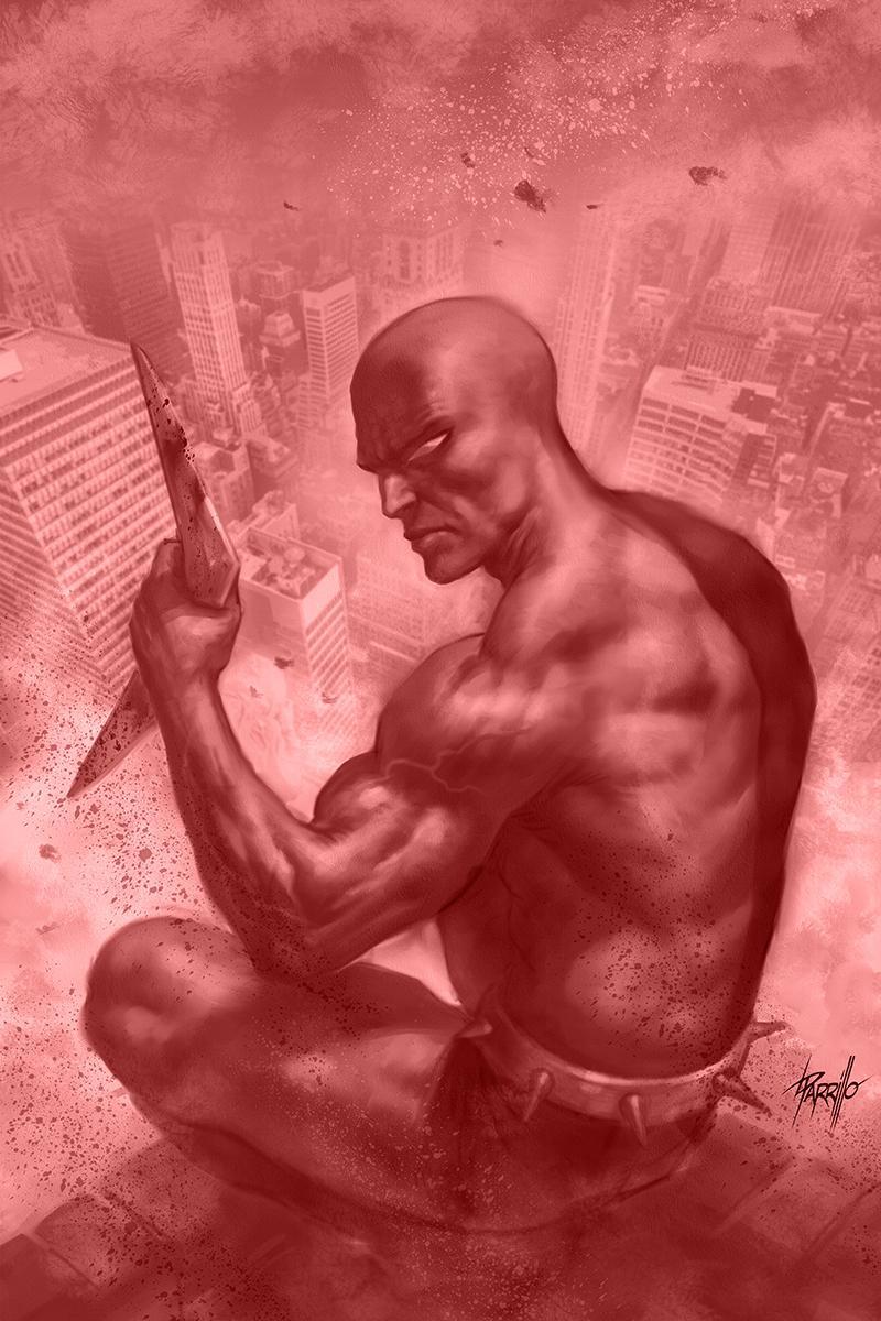 Death-Defying Devil Vol 2 #4 Cover E Incentive Lucio Parrillo Crimson Devil Virgin Cover