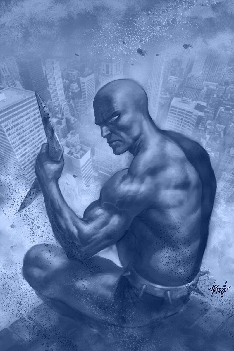 Death-Defying Devil Vol 2 #4 Cover F Incentive Lucio Parrillo Blue Hue Virgin Cover