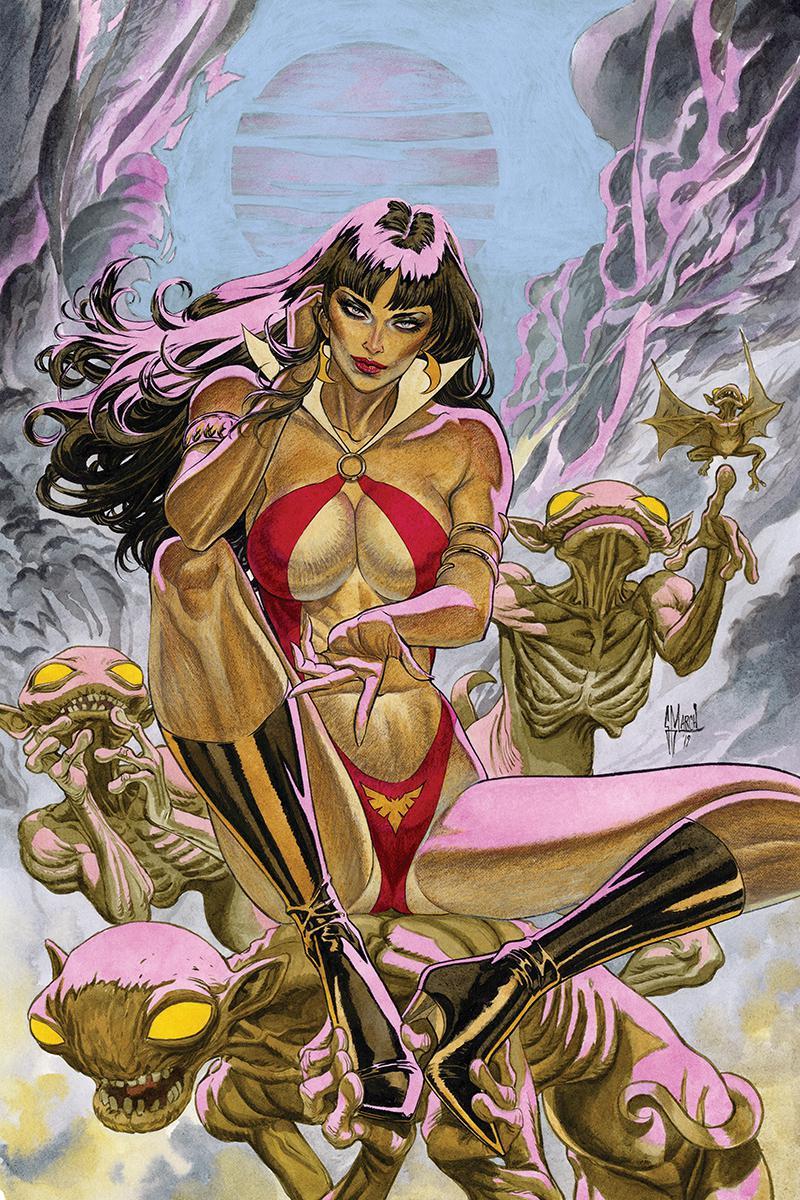 Vampirella Vol 8 #5 Cover P Incentive Guillem March Virgin Cover