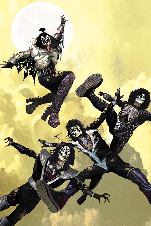 KISS Zombies #1 Cover M Limited Edition Arthur Suydam Virgin Cover