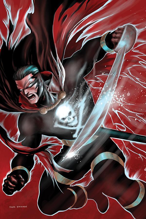 Black Terror Vol 4 #2 Cover I Limited Edition Tyler Kirkham Virgin Cover