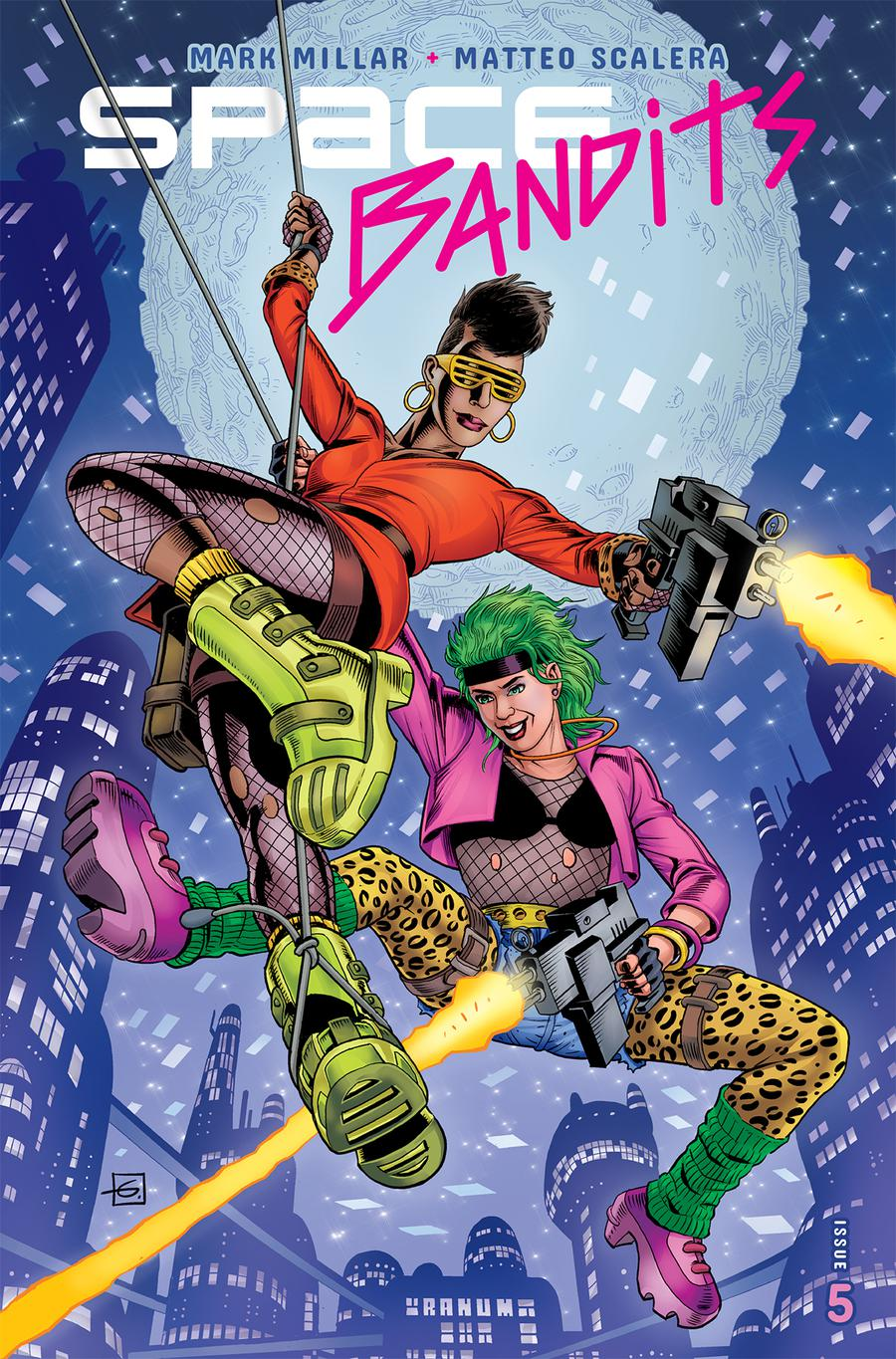 Space Bandits #5 Cover C Variant Dave Gibbons Legends Cover