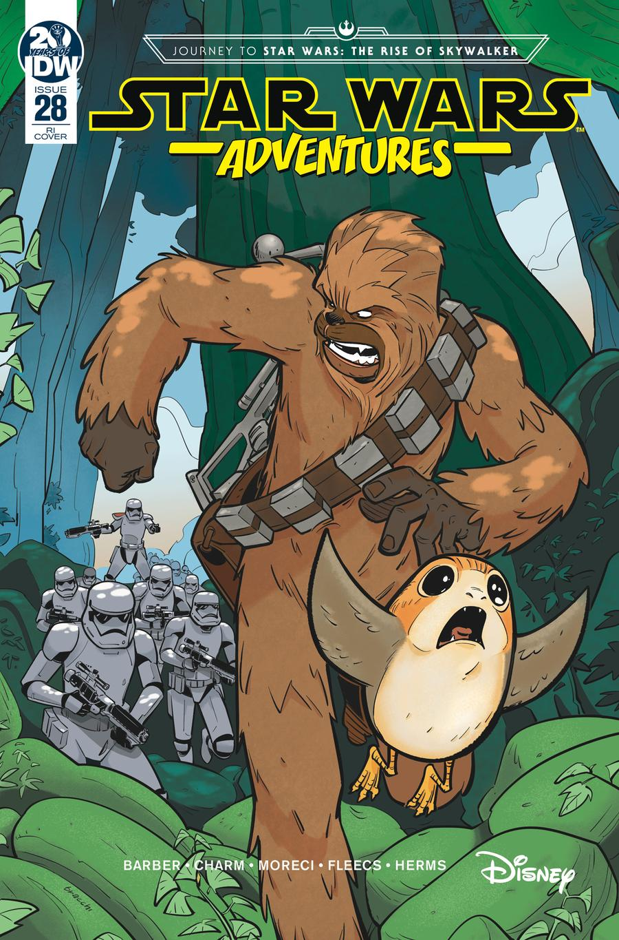 Star Wars Adventures #28 Cover C Incentive Manuel Bracchi Variant Cover