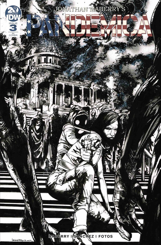 Pandemica #3 Cover B Incentive Alex Sanchez Variant Cover
