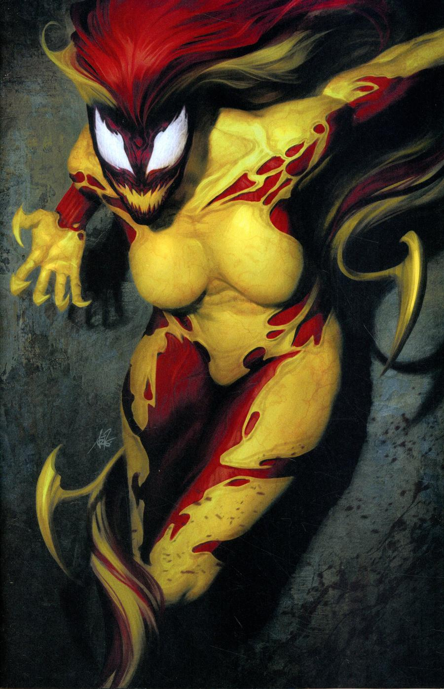 Scream Curse Of Carnage #1 Cover F Incentive Stanley Artgerm Lau Virgin Variant Cover (Absolute Carnage Tie-In)