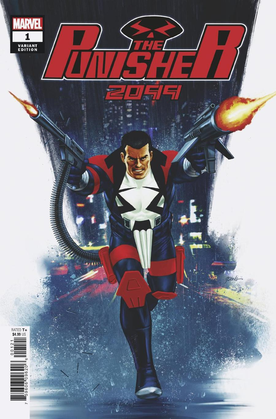 Punisher 2099 One Shot Cover C Incentive Steve Epting Variant Cover