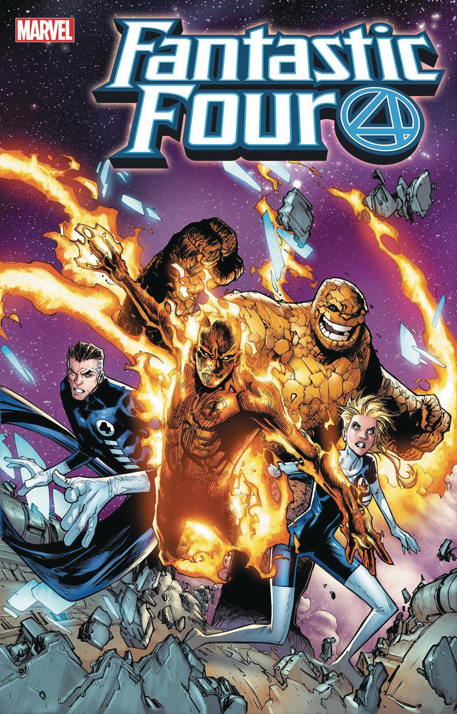 Fantastic Four 2099 One Shot Cover C Incentive Humberto Ramos Variant Cover
