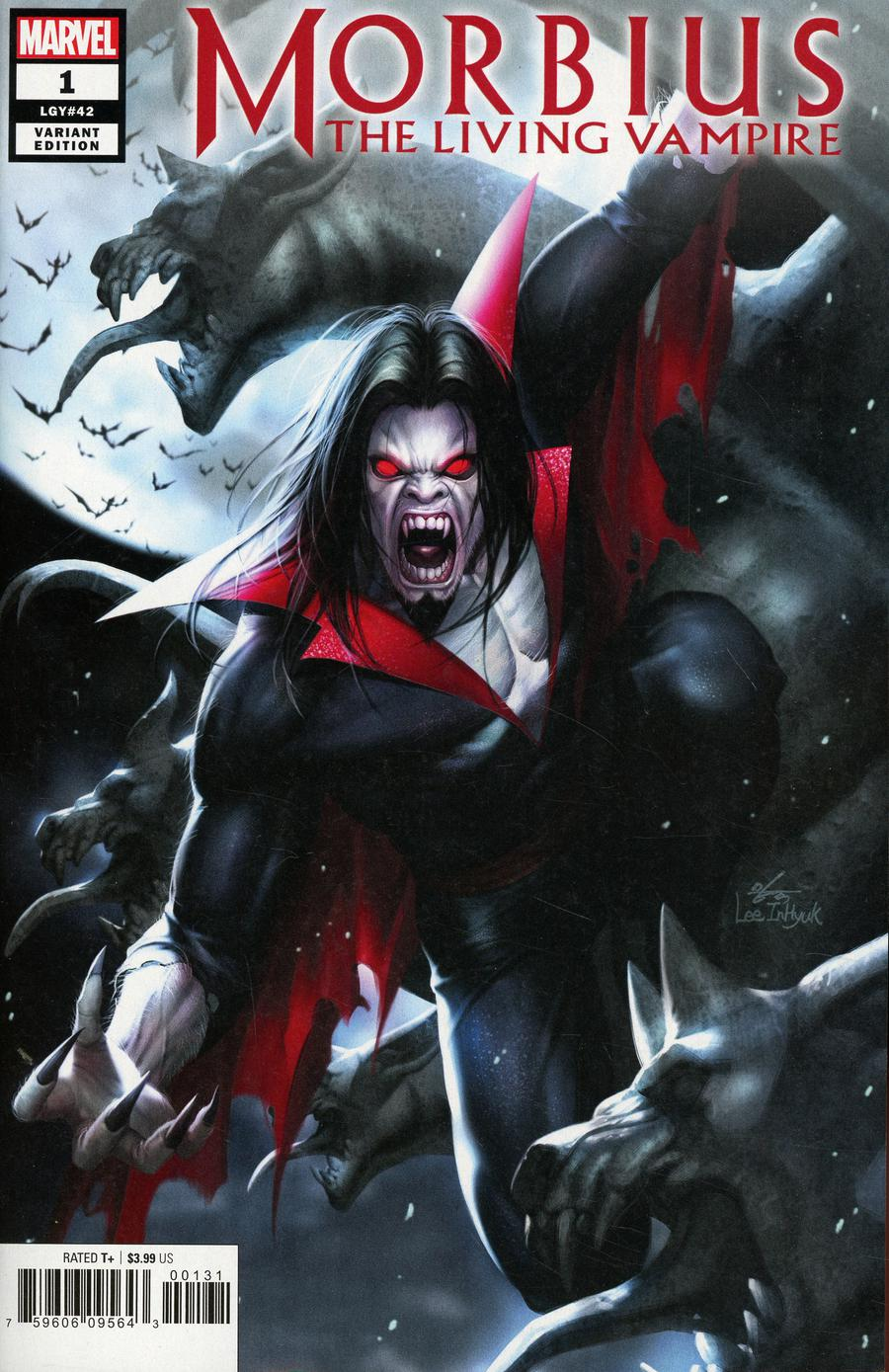 Morbius #1 Cover E Incentive Inhyuk Lee Variant Cover