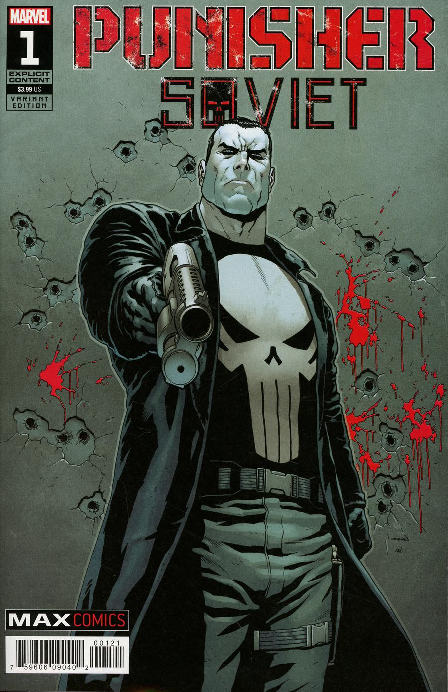 Punisher Soviet #1 Cover C Incentive Jacen Burrows Variant Cover