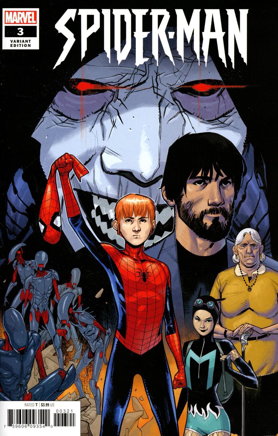 Spider-Man Vol 3 #3 Cover C Incentive Sara Pichelli Variant Cover