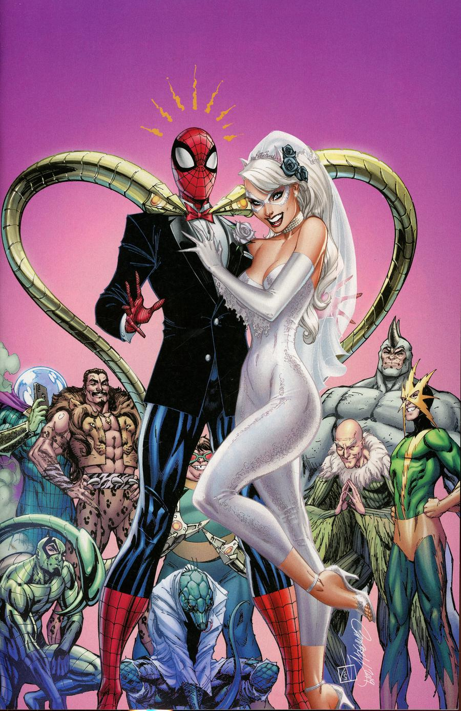 Black Cat Annual #1 Cover D Incentive J Scott Campbell Virgin Cover
