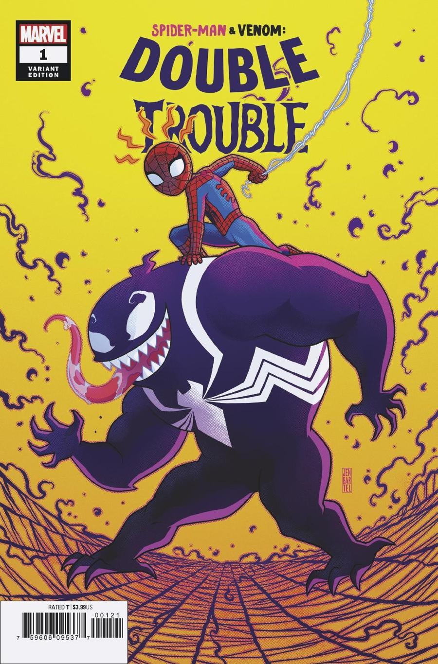 Spider-Man Venom Double Trouble #1 Cover E Incentive Jen Bartel Variant Cover