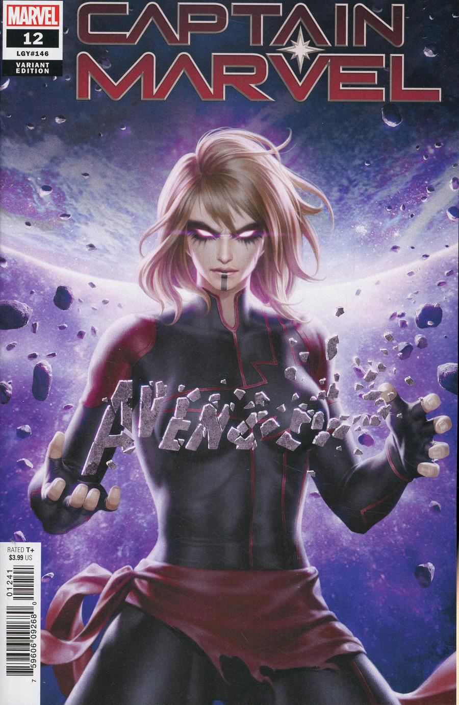 Captain Marvel Vol 9 #12 Cover D Incentive Junggeun Yoon Variant Cover