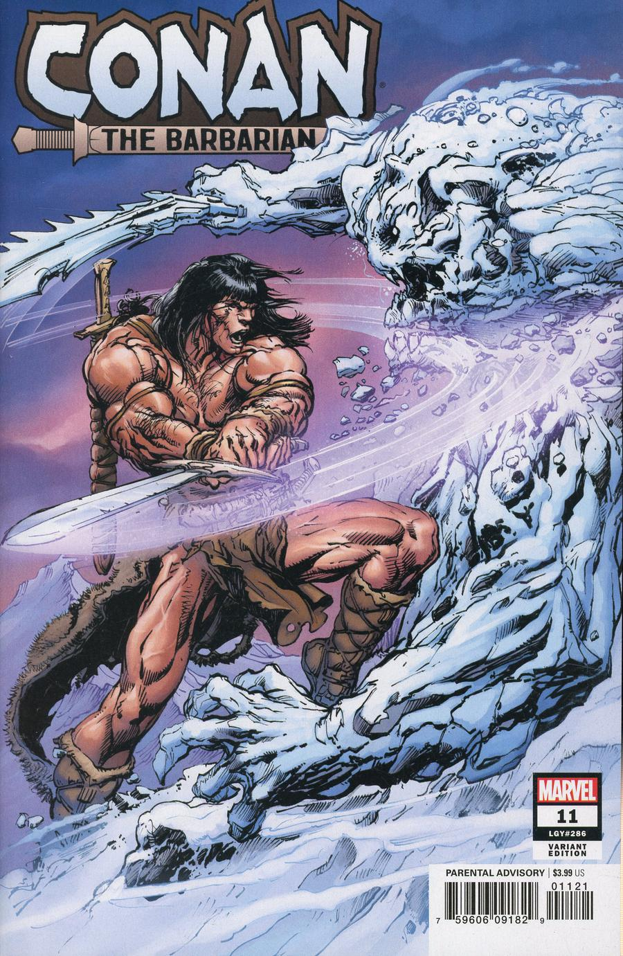 Conan The Barbarian Vol 4 #11 Cover B Incentive Neal Adams Variant Cover