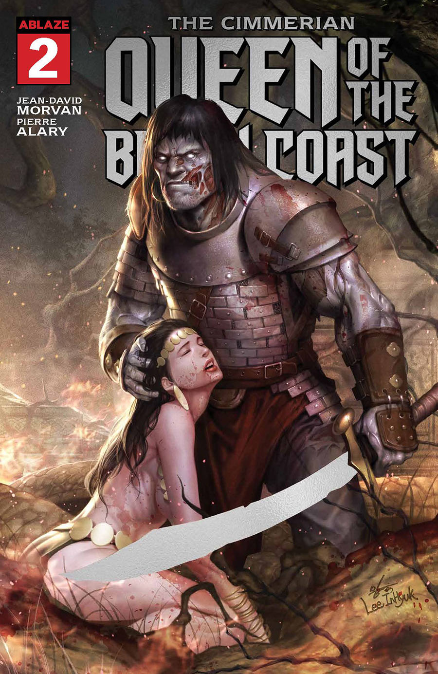 Cimmerian Queen Of The Black Coast #2 Cover E Incentive Zombie Foil Variant Cover