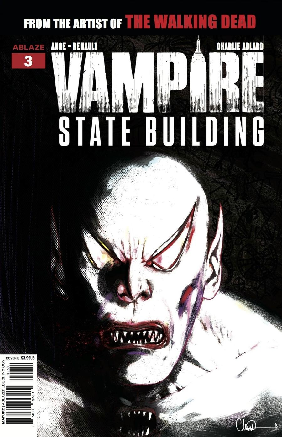 Vampire State Building #3 Cover E Incentive Guilherme Balbi Glow-In-The-Dark Variant Cover