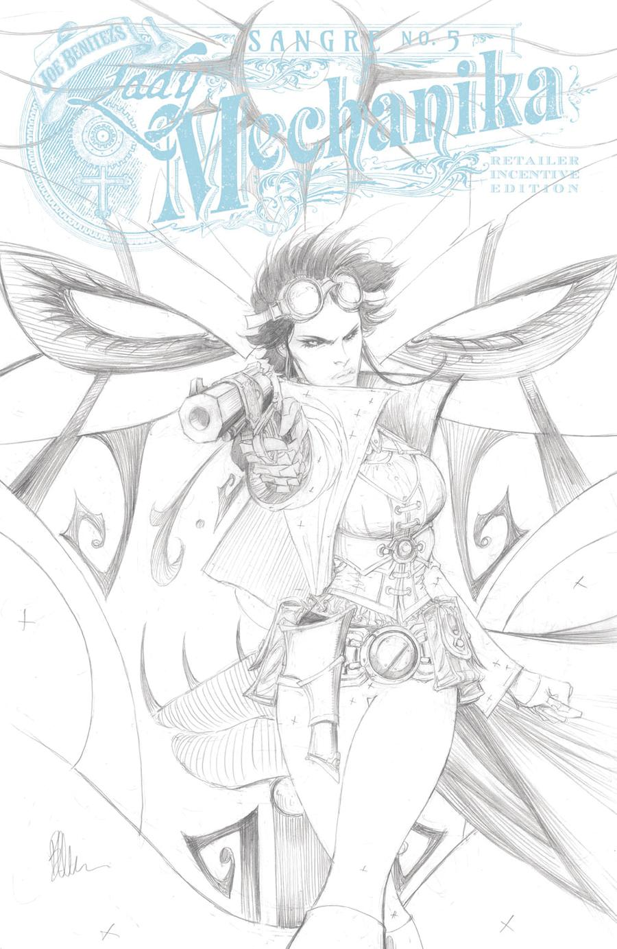 Lady Mechanika Sangre #5 Cover C Incentive Joe Benitez Variant Cover