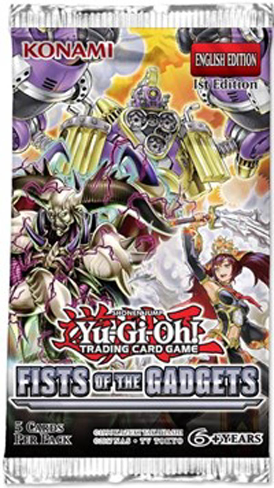 Yu-Gi-Oh Fists Of The Gadgets Booster Pack