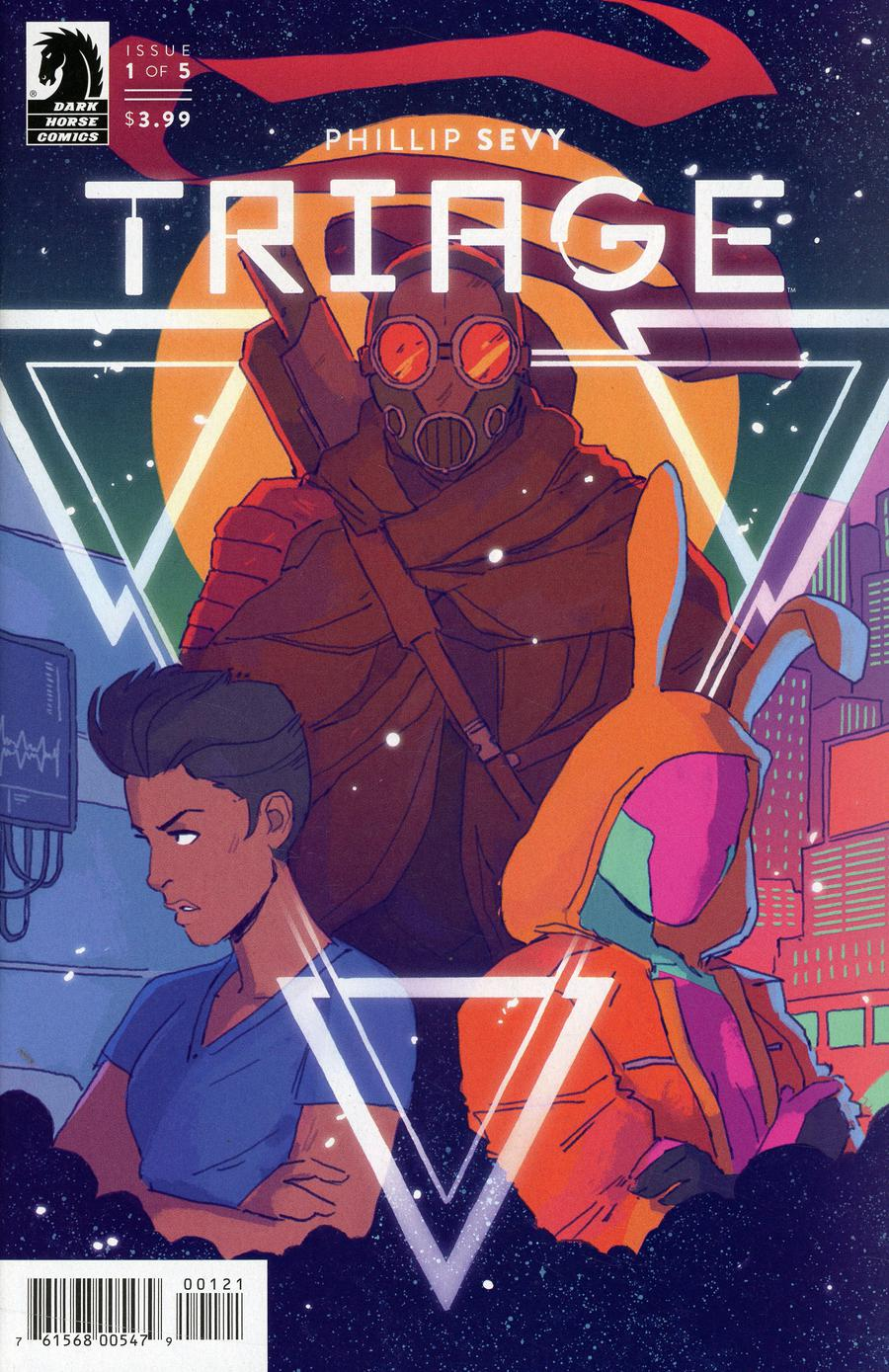 Triage #1 Cover B Variant Hannah Templer Cover