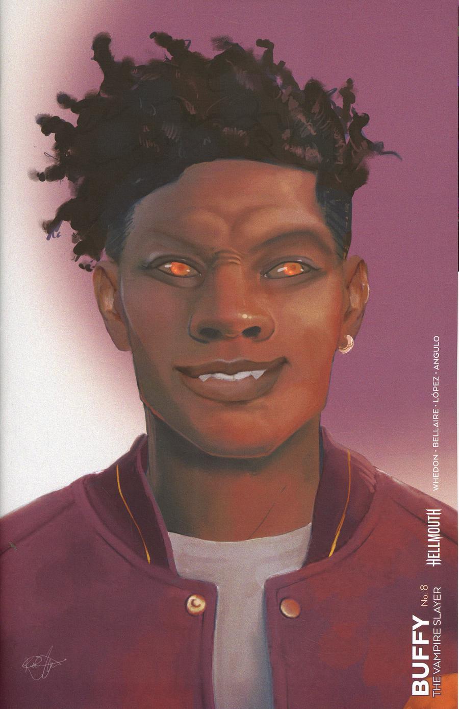 Buffy The Vampire Slayer Vol 2 #8 Cover F Variant Kaiti Infante Vampire Cover