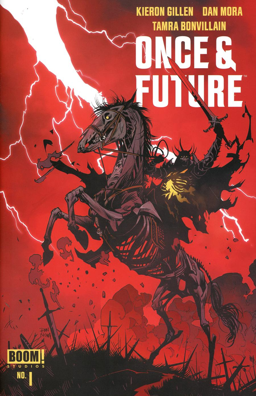 Once & Future #1 Cover D 3rd Ptg Variant Jae Lee & June Chung Cover